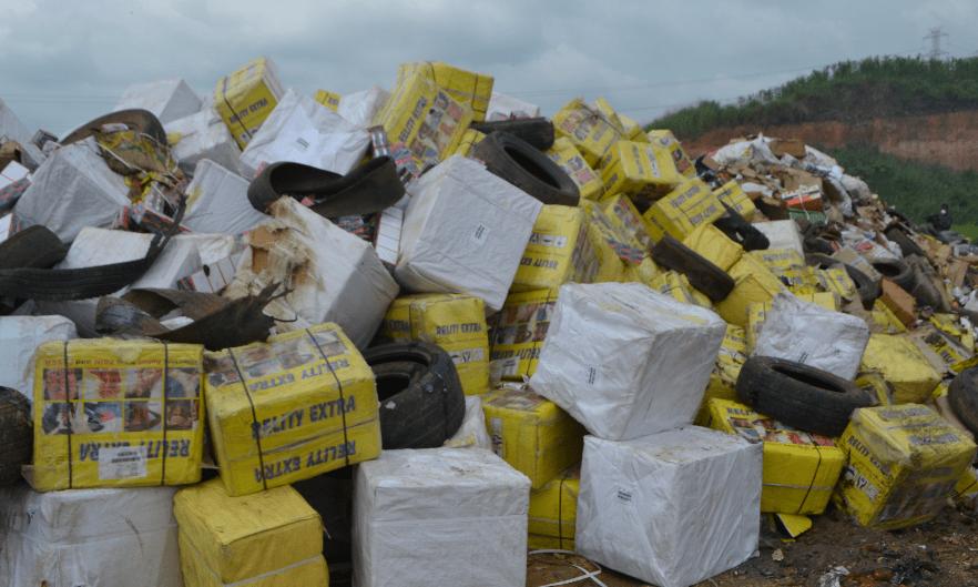 NAFDAC Destroys Banned Tramadol, Codeine Worth over N 3.5 Billion