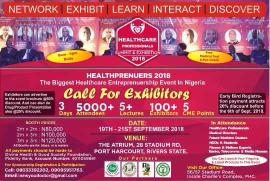 4th Edition of Healthprenuers Summit Holds in Port Harcourt