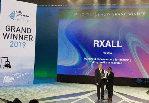 Pharm. Alonge Wins €100,000 Prize of the 2019 deepTech Challenge
