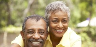 Image of an Aged couple