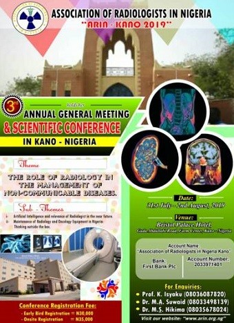 ARIN Holds 3rd Annual General Meeting and Scientific Conference in Kano