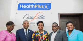 PSN President and Executives Visit HealthPlus Limited