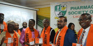 Lagos PSN Endorses Amatem Softgel as an Antimalarial of Choice