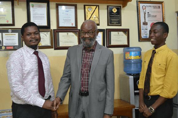 UNILAG PANS Pays Courtesy Visit to Pharmanews
