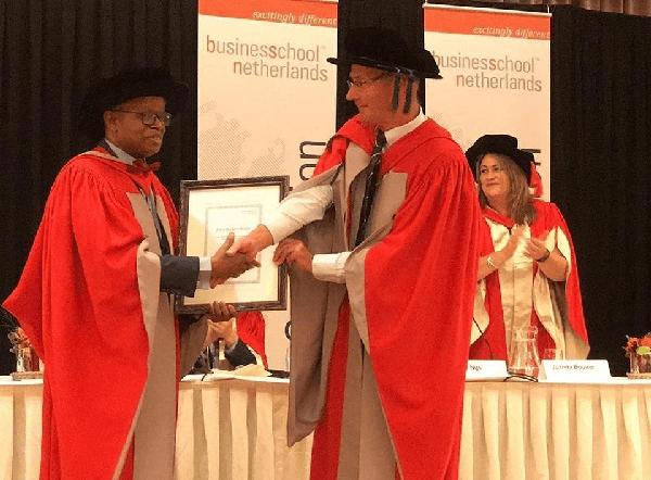 Lere Baale Becomes an Associate Professor