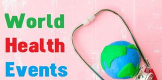 World Health Events Calendar