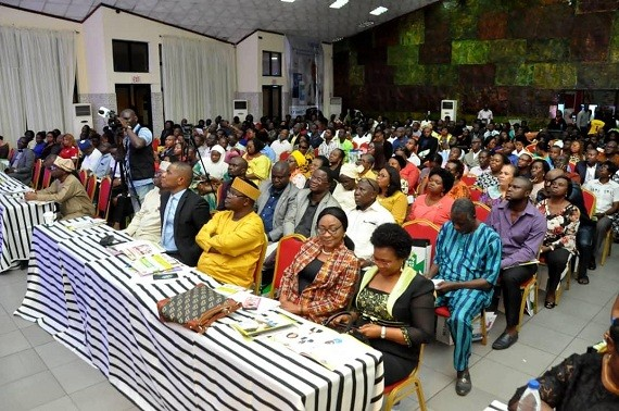 : A cross-section of participants at the event