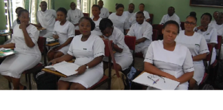 nurses in class