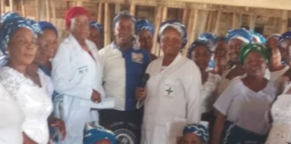 Anambra AHAPN Enlightens Community Women on Cervical Cancer
