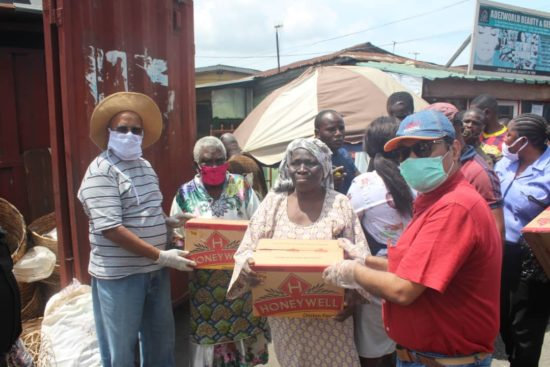 COVID-19: IPMIN Donates 1000 Cartons of Noodles to Ilupeju Residents