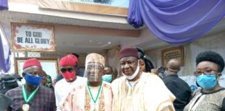 Mora Pays Last Respect to Late Anambra DPS, Anyachebelu