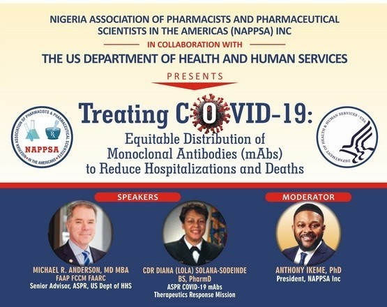NAPPSA Partners US Health Dept to Hold Webinar on COVID-19 Treatment