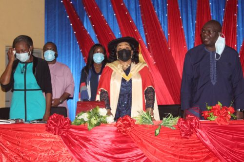 OOU Agog as Prof. Femi-Oyewo Bows Out in Style