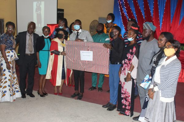 OOU Agog as Prof. Femi-Oyewio Bows Out in Style