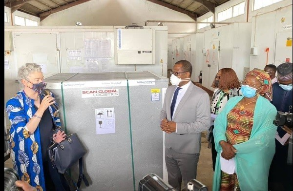 JUST IN: FG Receives 699,760 Doses of AstraZeneca COVID-19 Vaccine from UK