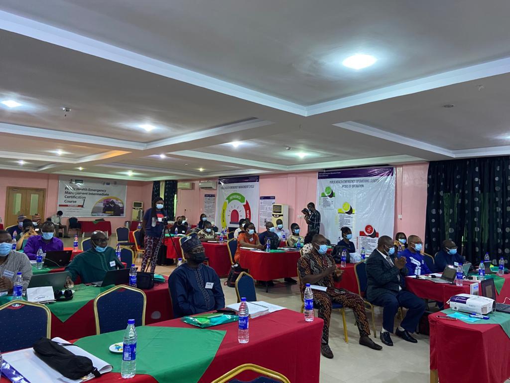 US-CDC trains 40 Nigerian Public Health officials on Emergency Response