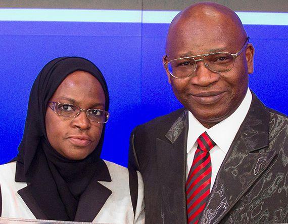Prof. Isa and Dr Amina Odidi